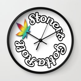 Stoner Gotta Roll Wall Clock