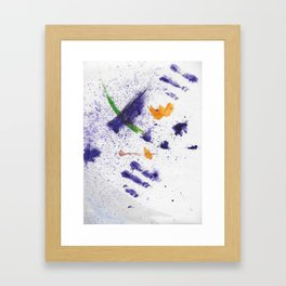 Watercolor Mania Framed Art Print