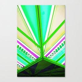 Linear colour  Canvas Print