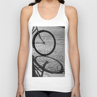 bicycle Tank Tops featuring bicycle by habish