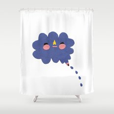 that's where the rain comes from Shower Curtain