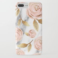 Blushing blooms iPhone 7 Plus Slim Case