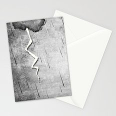 There's a storm a brewin Stationery Cards