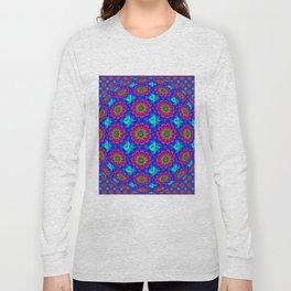 Flower  rainbow-colored Long Sleeve T-shirt