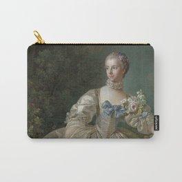 Madame Bergeret - François Boucher - 1766 Carry-All Pouch