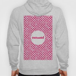 Pink Mermaid. Hoody
