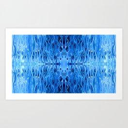 Frozen Squid by Chris Sparks Art Print