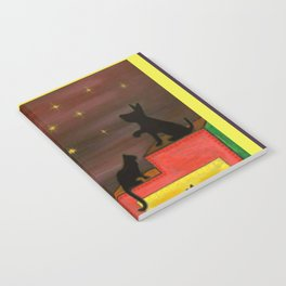 """Moonlight & Silhouettes (i)"" by ICA PAVON Notebook"
