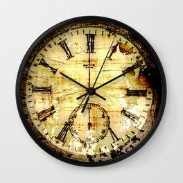 Artifact of Time - Pocket Watch Wall Clock