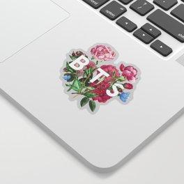 BTS Flowers Sticker