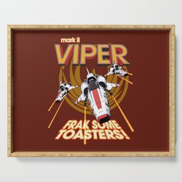 Viper Mk.II - Let's Frak Some Toasters! Serving Tray
