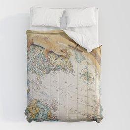 Globe-Trotting Gecko Comforters