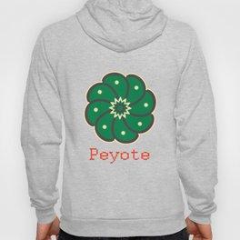 Peyote Cactus Hoody