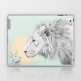 Lion and Bunny Laptop & iPad Skin