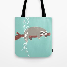 Sloth card - just 5 more minutes Tote Bag
