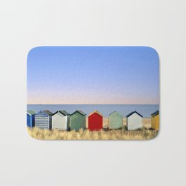 Beach Huts at Southwold (Suffolk/Great Britain) Bath Mat