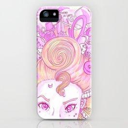 Sew Tools Girl iPhone Case