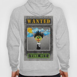 Wanted Time Out Illustration Hoody