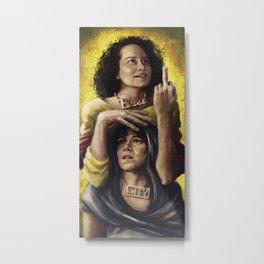 Broad Saints Metal Print