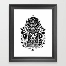 kozmik machine Framed Art Print