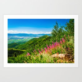 Park City Utah Landscape Photography Gifts Art Print