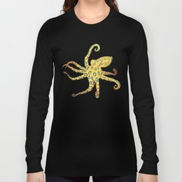 Blue-ringed Octopus (Octopussy) Long Sleeve T-shirt