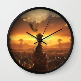 Eagle's Peak Wall Clock