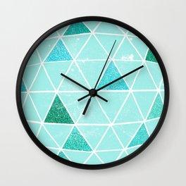 Geodesic 6 Wall Clock