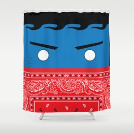 Blu Shower Curtain