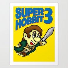Super Hobbit Art Print