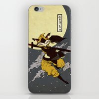 kitsune iPhone & iPod Skins featuring Kitsune by PD Design Studio