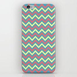 Chevron - coastal 2 iPhone Skin