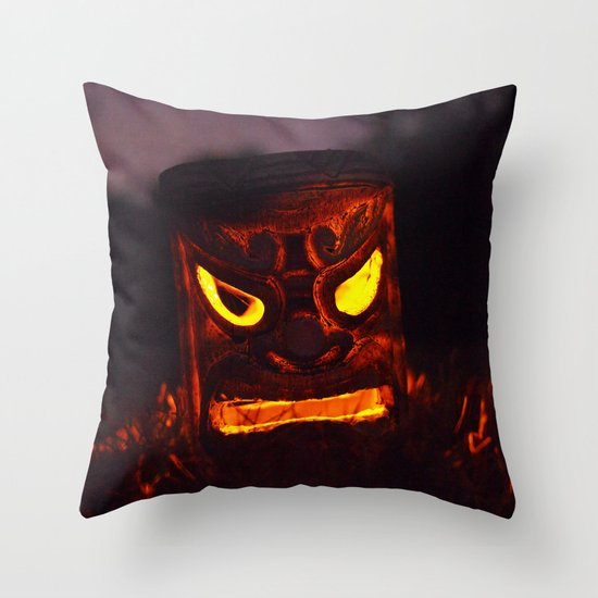 Autumn welcome Throw Pillow