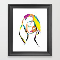 Stana Katic  Framed Art Print