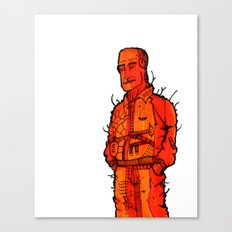 Couldn't be Bothered  Canvas Print