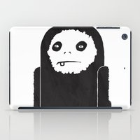 yeti iPad Cases featuring Yeti by Shy Ghoul