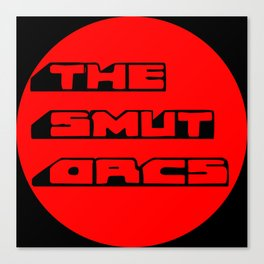The Smut Orcs Logo1 Canvas Print