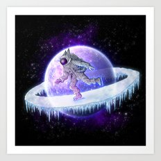 spaceskater Art Print