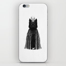 The Wolf King iPhone Skin
