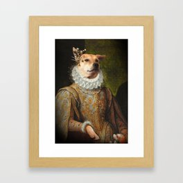 Lady Cheyenne Framed Art Print