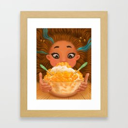 Mango Love Framed Art Print
