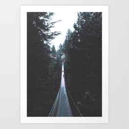 Vancouver Forest Art Print