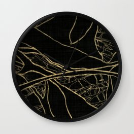 Coronary Contemporary 4 Wall Clock