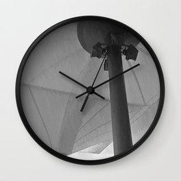 parasol and rain Wall Clock