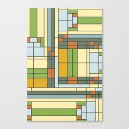 Frank lloyd wright pattern S01 Canvas Print