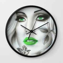 'Earth Bound' Wall Clock