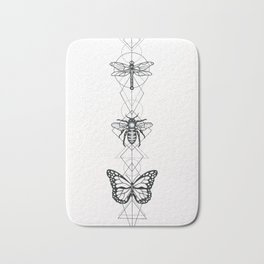 Geo Insects Bath Mat