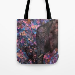 An Elephant Heart Makes Dreams Come True Tote Bag
