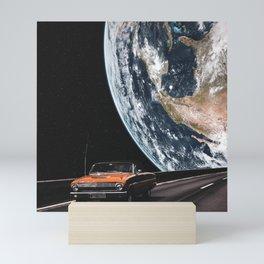 A traveling around the world Mini Art Print
