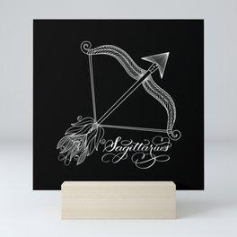 Sagittarius (Dark) Mini Art Print